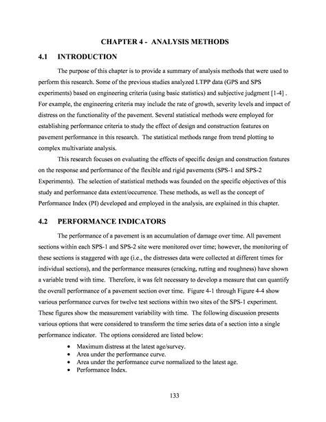 Chapter 4: Analysis Methods | LTPP Data Analysis