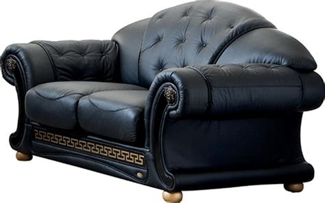 versace leather sofa rooms