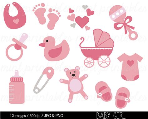 baby shower clipart baby clipart baby girl clip art