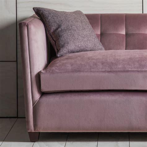 pink velvet sofa pink velvet sofa by primrose plum notonthehighstreet