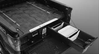 decked adds drawers to your truck bed for