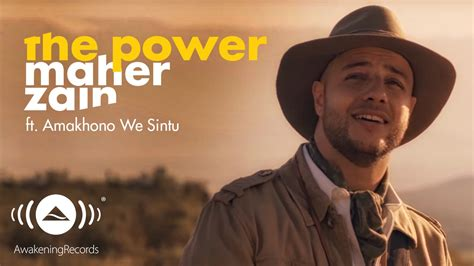 Cd Maher Zein One 2016 maher zain the power ماهر زين official