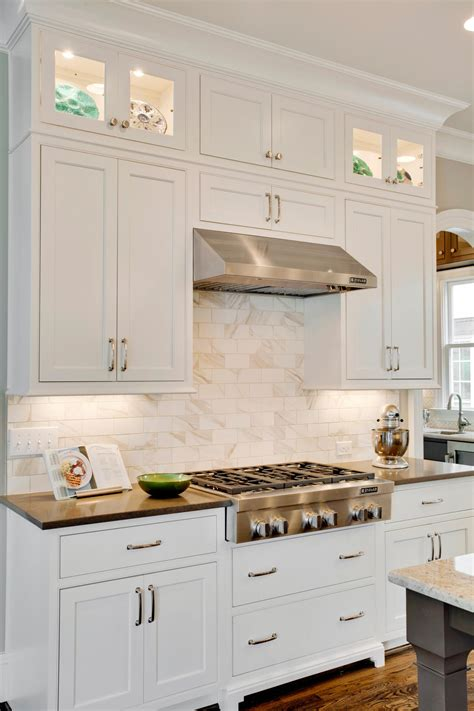 shaker kitchen cabinets white photos hgtv