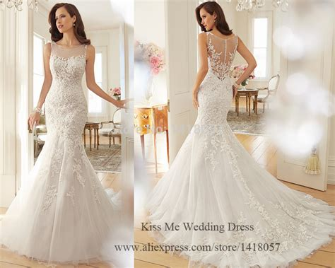 latest design wedding dress 2015 mermaid bridal gowns