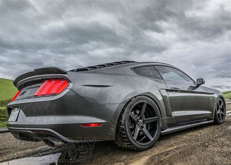 widebody mustang how to build a widebody s550 mustang americanmuscle