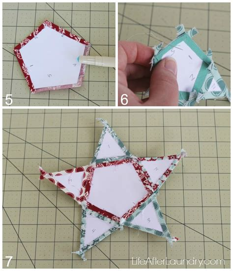 christmas tree paper pieced christmas tree in july paper pieced tree topper after laundry