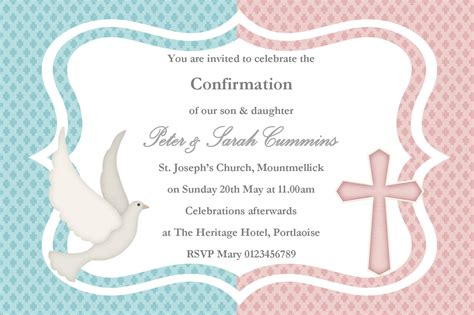 Confirmation Thank You Card Template by Personalised Confirmation Invitations Design 2