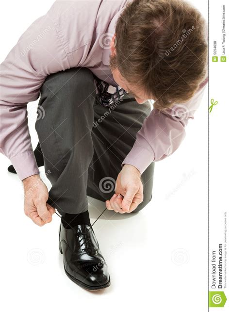 putting on shoes putting on shoes royalty free stock photos image 9094638