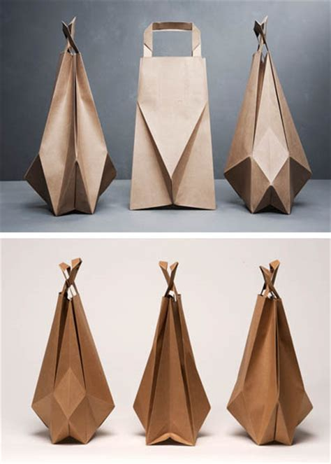 Origami Bags With Paper - origami brown paper bags famille summerbelle