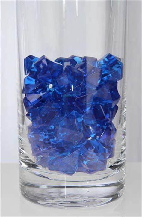 Royal Blue Decorations by 5 Oz Acrylic Sparkling Royal Blue Jewels Confetti