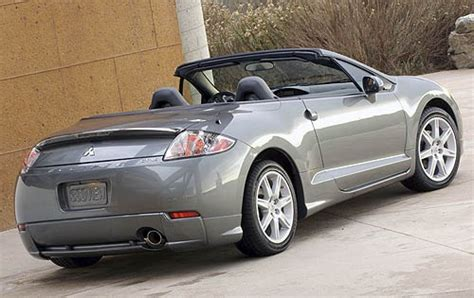 how cars run 2007 mitsubishi eclipse parental controls used 2008 mitsubishi eclipse spyder for sale pricing features edmunds