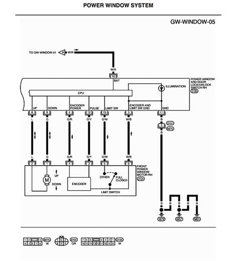 wiring diagram for power window switches 40 wiring