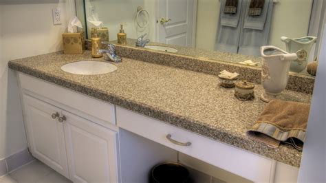 Bathroom Vanity Countertop Materials Bathroom Vanities With Tops Choosing The Right Countertop Material Traba Homes