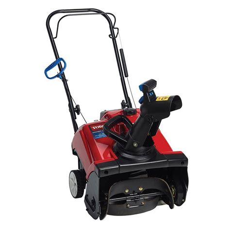 toro power clear 518 ze 18 in 99cc single stage gas snow