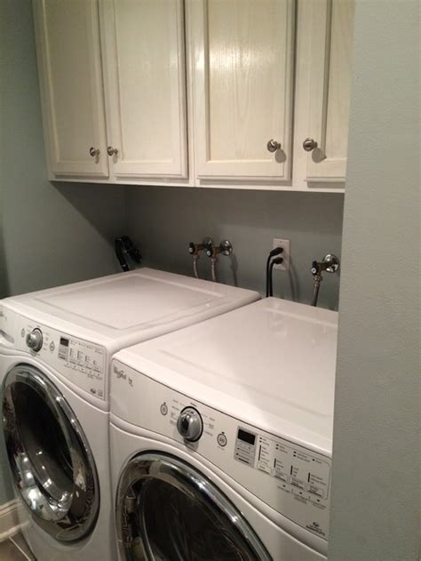washer and dryer topper how can i hide my laundry room plumbing