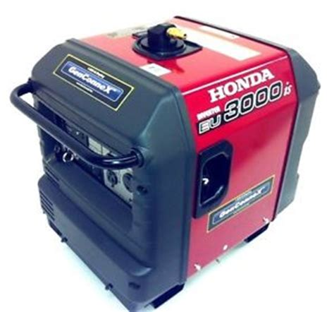 honda propane nat gas eu3000is inverter generator whisper