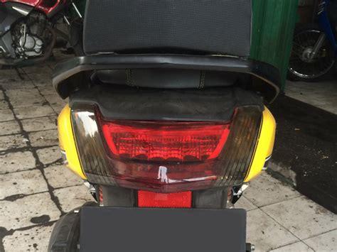 Cover Lu Belakang Nmax Keren modifikasi yamaha nmax dengan stiker garasi modifikasi