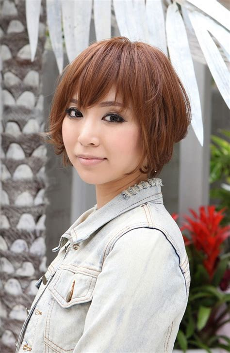 trendy short copper haircut from japan stacked short trendy short copper haircut from japan stacked short