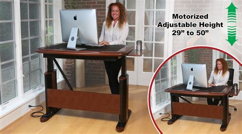 high end standing desk executive sit stand desks products by caretta workspace