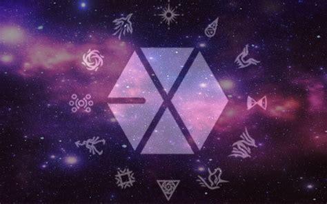 exo logo wallpaper wallpapersafari