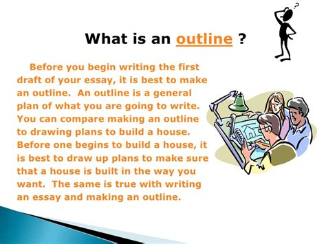 what is the process of writing a research paper outlining process