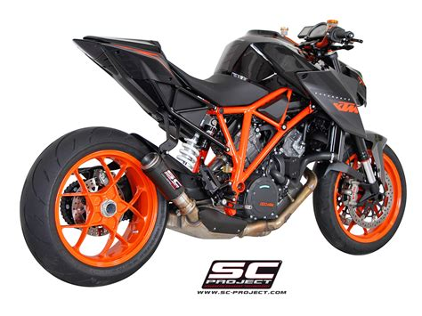 Ktm Exhaust Hear The Ktm 1290 Duke R With An Sc Project Titanium