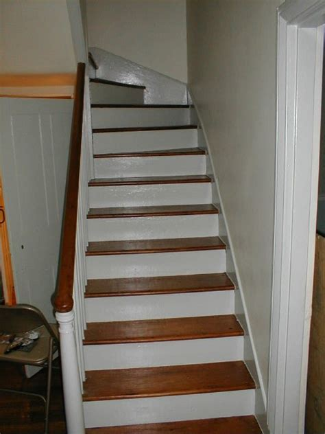 best paint for stair treads paint pine t g remove paint from stair treads