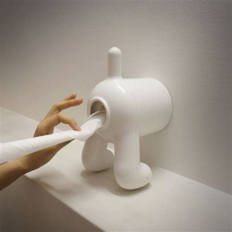 dog toilet paper holder dog butt toilet paper holder
