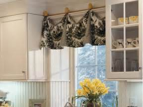 Kitchen Window Valance Ideas Adding Color And Pattern With Window Valances Window
