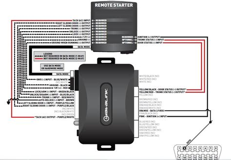 compustar remote start wiring diagram starter relay wiring
