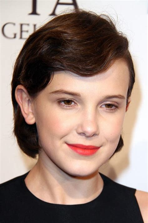 millie bobby brown s hairstyles hair colors