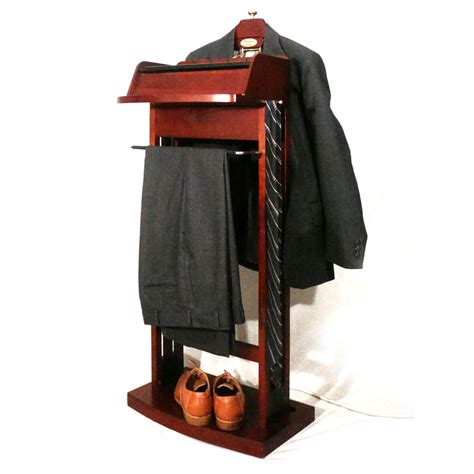 Wardrobe Valet by Proman Excalibur Wardrobe Charging Valet Clothes Racks