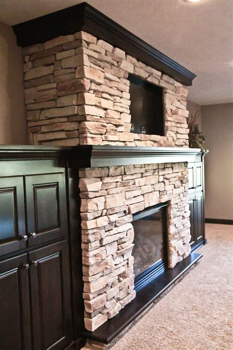 stone around fireplace pin by shelly barnes on dream home ideas pinterest