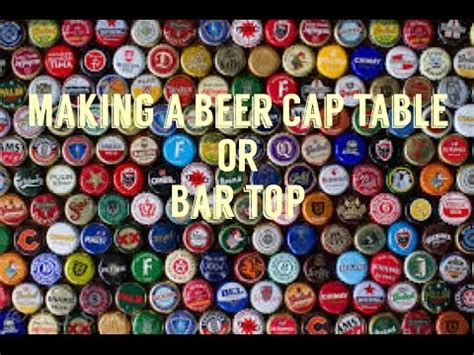 how to make a bottle cap bar top bottle cap wall 50 000 bottle caps on our wall in 2 m doovi