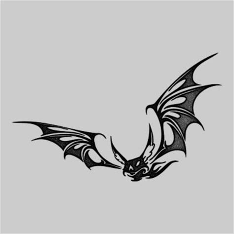 bat tribal tattoo concept bat tattoos