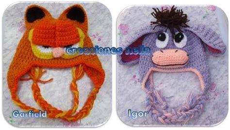 imagenes de gorros de animales gorros tejidos de animales para beb 233 s ni 241 os y adultos