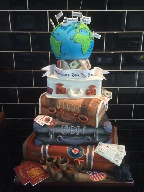 Hochzeitstorte Thema Reisen by Travel Suitcase Wedding Cake Cake By Paul Of Happy