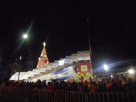 zocalo night zocalo of mexico city at night on christmas z 243 calo de la