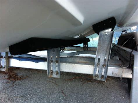 boat trailer stern roller trailer front keel roller setup height page 1 iboats