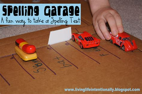 How To Spell Garage spelling garage a way to take a spelling test