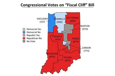 indiana house of representatives indiana congressional delegation split on fiscal cliff bill news indiana public media