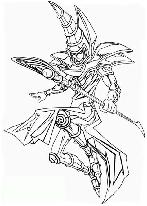 Coloring Page Yu Gi Oh by Yugioh Free Colouring Pages