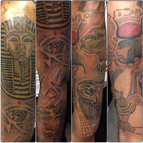 osiris tattoo pharoah third eye osiris baset amun ra