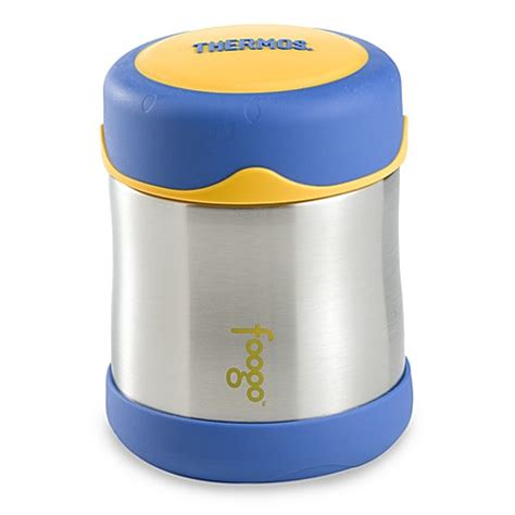 bed bath and beyond thermos buy thermos 174 foogo 174 10 ounce leak proof food jar in blue