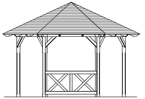 kleiner pavillon kaufen skanholz 171 br 252 stung pavillon 187 andreaskreuz halbhohes