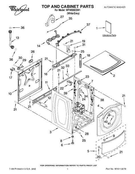 whirlpool duet parts diagram whirlpool duet sport schematic get free image about