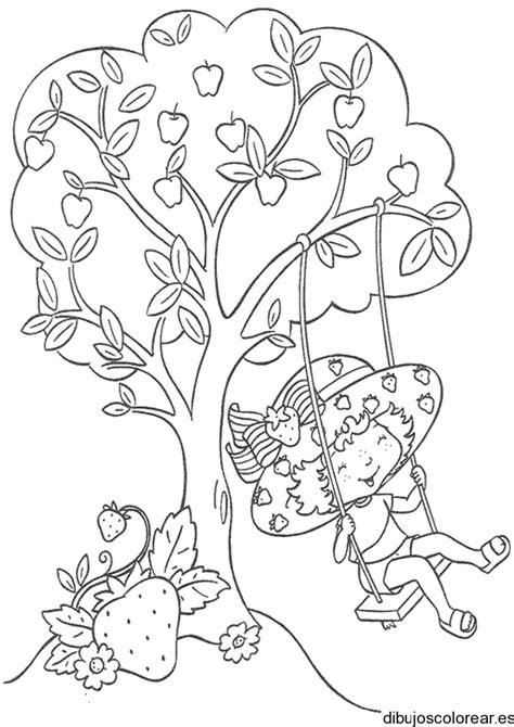 imagenes de niños jugando en un columpio para colorear free coloring pages of columpios para colorear