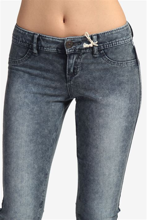 comfortable skinny jeans themogan low rise super comfortable stretch jeggings