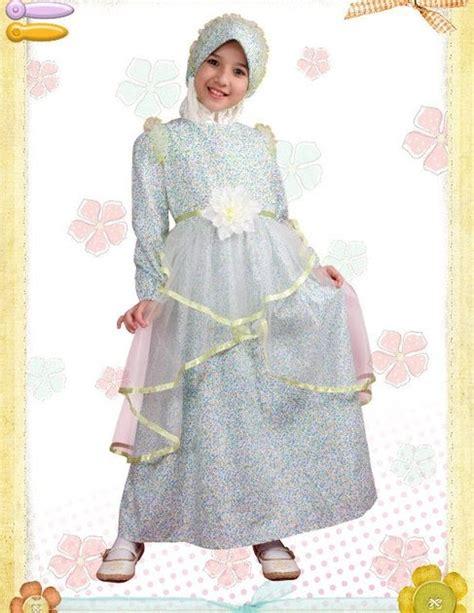 Gamis Polos Bando murah jer2u gaun muslimah kanak kanak aini