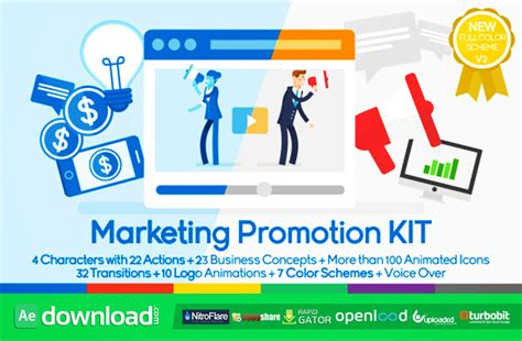 marketing promotion kit videohive template free download